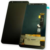 Дисплей Google Pixel 3a XL с сенсором, черный (оригинал Китай)