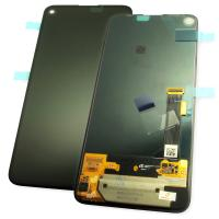 Дисплей Google Pixel 4A 5G с сенсором, черный (оригинал Китай)