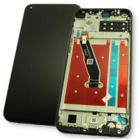 Дисплей Huawei P40 Lite E с сенсором и рамкой черного цвета (оригинальные комплектующие)