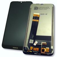 Дисплей Nokia 1.3 с сенсором, черный (оригинальная матрица)