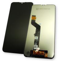 Дисплей Motorola Moto E7 Plus XT2081 с сенсором, черный (оригинальные комплектующие)