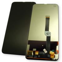 Дисплей Motorola Moto One Fusion Plus с сенсором, черный (оригинальная матрица)