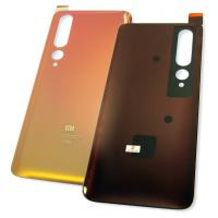 Стекло задней крышки Xiaomi Mi 10 5G / Mi 10 Pro 5G золотистое (оригинальные комплектующие)