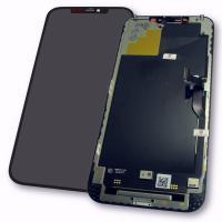 Дисплей iPhone 12 Pro Max с сенсором и рамкой, черный (оригинал)