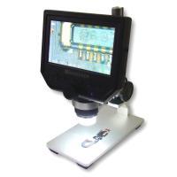 """Цифровой микроскоп с монитором 4.3"""" кратность увеличения 600X, HD 3.6MP CCD"""