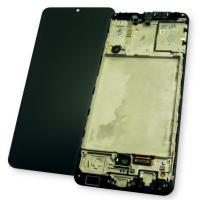 Дисплей Samsung A315F A315G Galaxy A31 2020 с сенсором и рамкой, черный GH82-22761A (оригинал 100%)