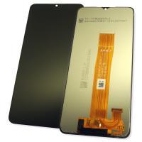 Дисплей Samsung A125F Galaxy A12 2020 с сенсором, черный GH82-24491 (оригинал 100%)