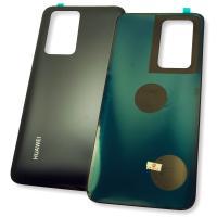 Стекло задней крышки Huawei P40 Pro черного цвета (оригинальные комплектующие)