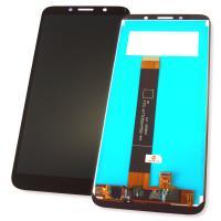 Дисплей Huawei Y5p (2020) / Honor 9S с сенсором, черный (оригинальные комплектующие)