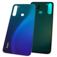 Стекло задней крышки Xiaomi Redmi Note 8 синего цвета (копия ААА)