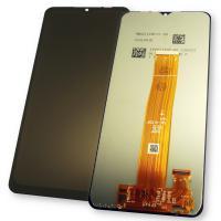 Дисплей Samsung A125F Galaxy A12 2020 с сенсором, черный (оригинальные комплектующие)