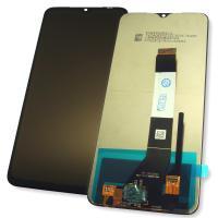 Дисплей Xiaomi Poco M3 с сенсором, черный (оригинальные комплектующие)