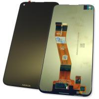 Дисплей Nokia 5.4 с сенсором, черный (оригинал Китай)