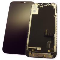 Дисплей iPhone 12 mini с сенсором и рамкой, черный (оригинал)