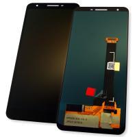 Дисплей Google Pixel 3a с сенсором, черный (оригинальные комплектующие)