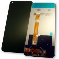 Дисплей Realme 7 / Realme 6 с сенсором, черный (оригинальные комплектующие)