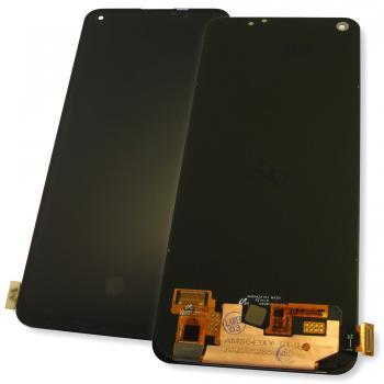 Дисплей Realme 7 Pro с сенсором, черный (оригинальные комплектующие)