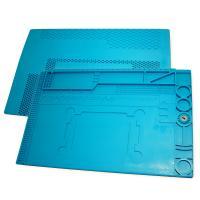 Коврик органайзер на рабочий стол TE-505 450*300 мм (силиконовый, антистатический, термоустойчивый)