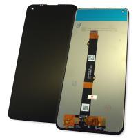 Дисплей Motorola Moto G9 Power XT2091 с сенсором, черный (оригинальные комплектующие)