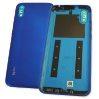 Задняя крышка, корпус Xiaomi Redmi 9A синего цвета (оригинал Китай)