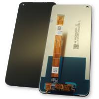 Дисплей Oppo A53 / A33 / A22 / Realme 7i с сенсором, черный (оригинальные комплектующие)