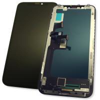 Дисплей iPhone X с сенсором и рамкой, черный / TFT In-Cell / Longteng LT (копия ААА)