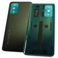 Стекло задней крышки Xiaomi Mi 10T черное (оригинал Китай)