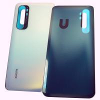 Стекло задней крышки Xiaomi Mi Note 10 Lite белое (оригинальные комплектующие)