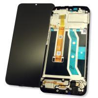 Дисплей Realme C11 2020 с сенсором и рамкой, черный (оригинал 100%)
