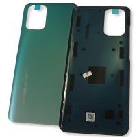 Стекло задней крышки Xiaomi Redmi Note 10 4G зелёное (оригинал Китай)