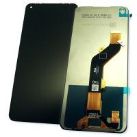 Дисплей Tecno Spark 6 / Pova / Camon 16 SE с сенсором, черный (оригинальные комплектующие)