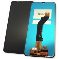Дисплей Tecno Pop 4 Pro BC3 с сенсором, черный (оригинальные комплектующие)