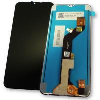 Дисплей Tecno Spark 6 Go KE5j с сенсором, черный (оригинальные комплектующие)