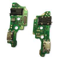 Разъем зарядки Tecno Camon 15 на плате с разъемом под наушники и микрофоном (копия AA)