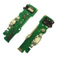 Разъем зарядки Tecno Pop 4 на плате с разъемом под наушники и микрофоном (копия AA)