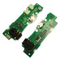 Разъем зарядки Tecno Pop 3 на плате с разъемом под наушники и микрофоном (копия AA)