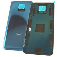 Стекло задней крышки Xiaomi Redmi Note 9S синего цвета (оригинал Китай)