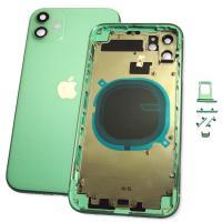 Корпус iPhone 11 полный комплект, зелёный (оригинальные комплектующие)