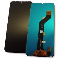Дисплей Tecno Spark 6 Go KE5j с сенсором, черный (копия ААА)