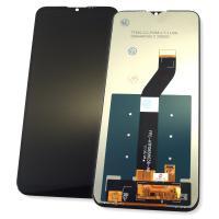 Дисплей Motorola Moto G8 Power Lite XT2055 с сенсором, черный (оригинальные комплектующие)