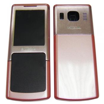 Корпус Nokia 6500cl розовый