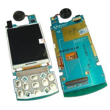 Дисплей Samsung M620 на плате с клавиатурным модулем