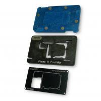 BGA трафарет QianLi для iPhone 11 Pro / 11 Pro Max (межплатный) с платформой, фиксатором материнской платы