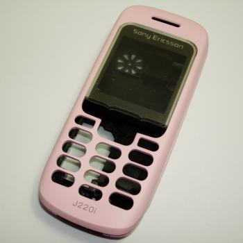 Корпус Sony Ericsson J220i розовый