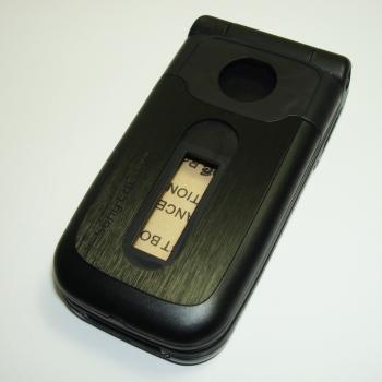 Корпус Sony Ericsson Z550 черный