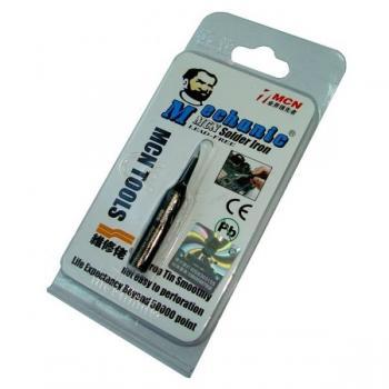 Жало для паяльника MECHANIC 900 M-IS 0.6 мм (кривoе) - черный