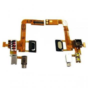 Шлейф Sony Ericsson C510 + разъем под камеру и динамик