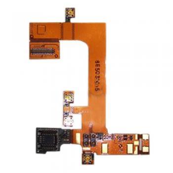 Шлейф Sony Ericsson G702 + разъем под камеру