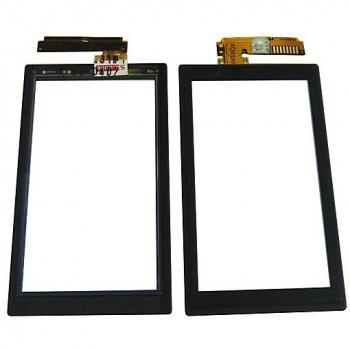 Сенсорный экран Sony Ericsson U10 Aino черный (оригинал Китай)