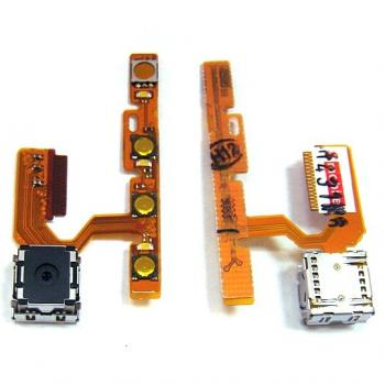 Шлейф Nokia E75 + основная камера и кнопки прокрутки (оригинал)